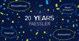 20 Years of Paessler – Our Company History in Four Acts